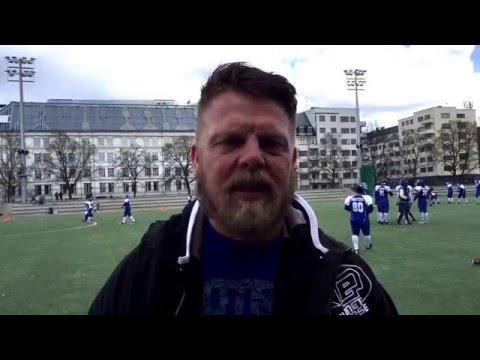 Frank Valleé før kampen D2 230416