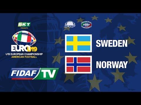 Euro U19: Sweden vs Norway