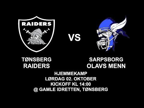 Tønsberg Raiders vs. Sarpsborg Olavs Menn