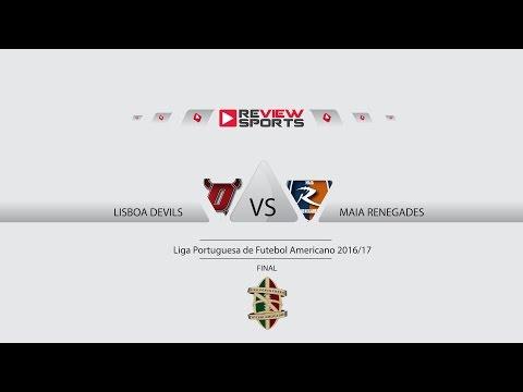 Final Liga Portuguesa de Futebol Americano 2016/17