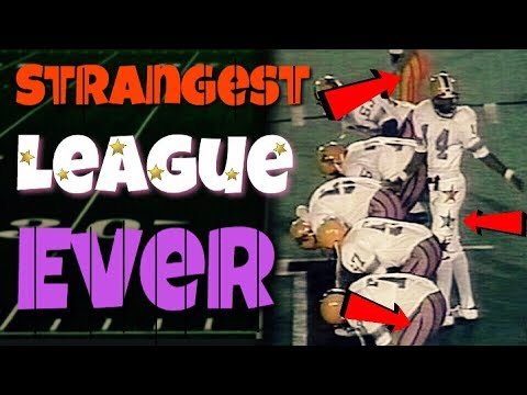 Meet The Most DISASTROUS Football League Ever