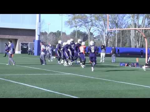 Auburn practice: Hurry-up drill 3-27-13