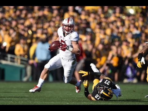 Christian McCaffrey - Official Sophomore Highlights HD Rose Bowl Highlights Included
