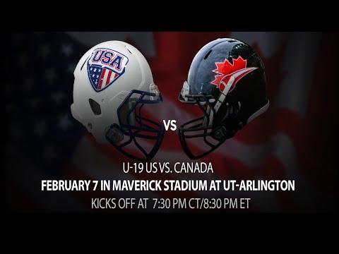 USA Football International Bowl: U-19 US vs. Canada