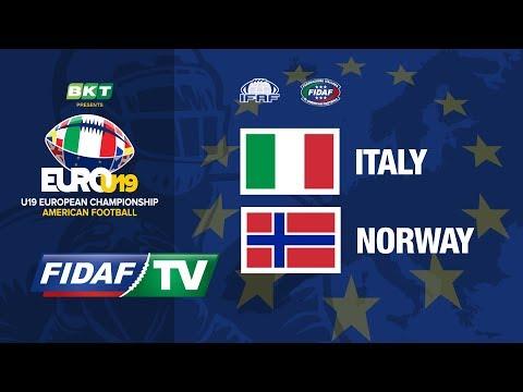 Euro U19: Italy vs Norway