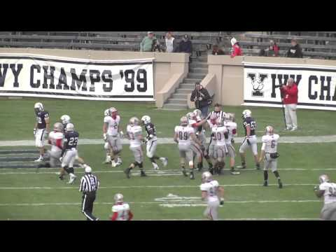 Tellef Lundevall Brown University Football Highlights