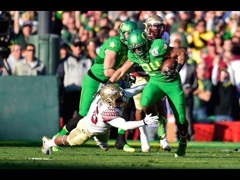 2015 Semi Final Rose Bowl #2 Oregon vs #3 Florida State