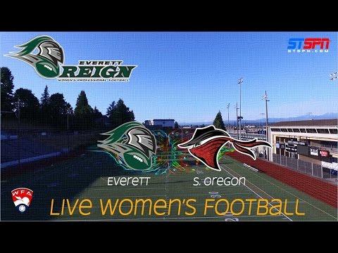 Everett Reign vs Southern Oregon Women's Football