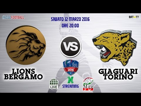 Lions Bergamo vs Giaguari Torino