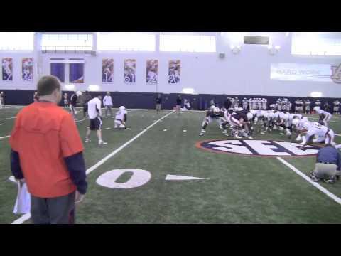 Auburn practice: Special teams 4-3-13