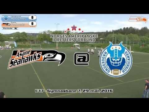 Football U17: Åsane Seahawks @ Haugesund Hurricanes