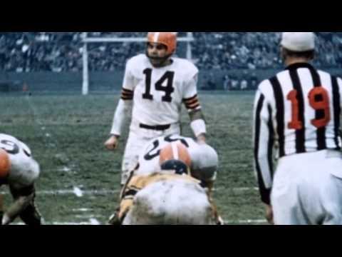 Two Minutes of Pro Football History: Otto Graham's Winning Ways