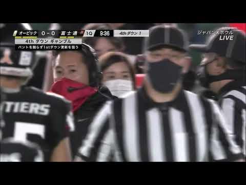 Football in Japan: X Bowl 34 (2020)