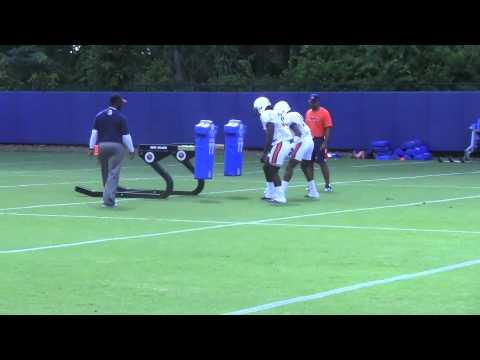 Auburn practice 8-3-12
