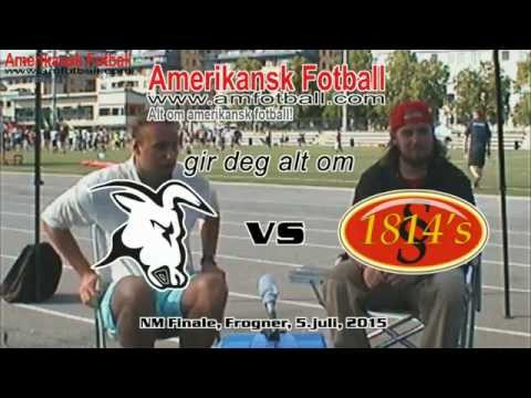 Postgame interview with DC Thor Pate, Eidsvoll 1814s, after Norwegian Champ'ship game 2015