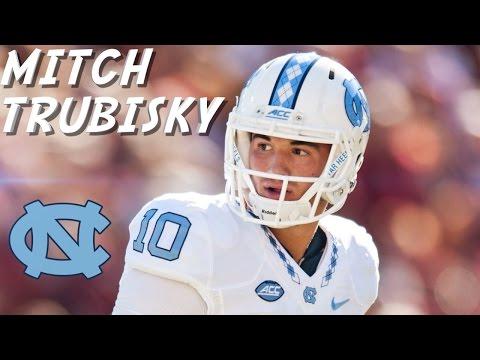 "Mitch Trubisky || ""Future NFL Franchise QB"" || UNC Highlights"