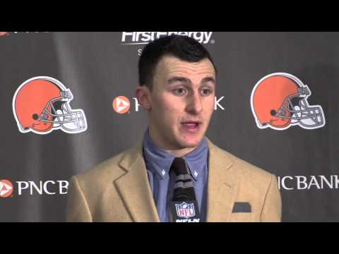 Johnny Manziel says 'I'm not using the rookie excuse' after Browns are dominated by Bengals