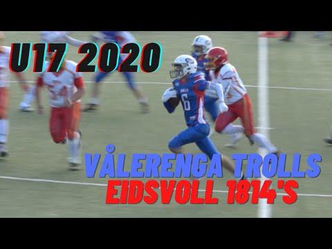 u17 | Highlights | Vålerenga Trolls vs Eidsvoll 1814's | 30.08.2020