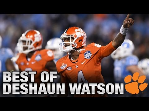 Clemson Football's Deshaun Watson: Best Plays vs. North Carolina