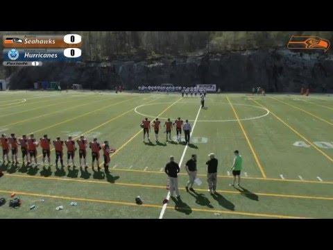 Football: Åsane Seahawks vs. Haugesund Hurricanes