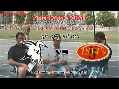 Amerikansk Fotball HalfTime LIVE!!