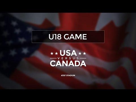 U-18 | USA Football vs. Football Canada | 2015 International Bowl