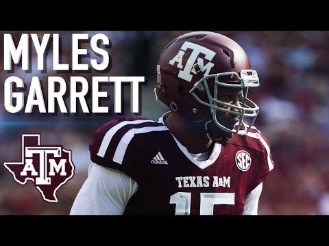 "Myles Garrett || ""Welcome to Cleveland"" || Texas A&M Highlights"
