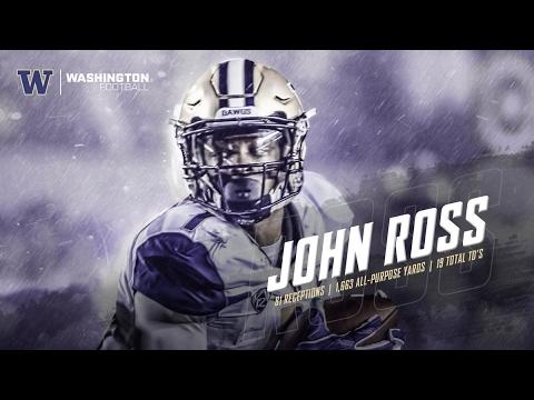 """FLASH"" - John Ross Ulitmate Washington Highlights ᴴᴰ"