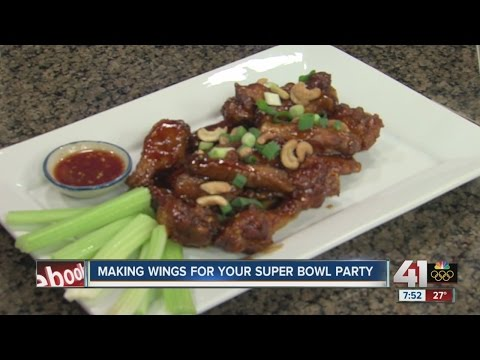 Making wings for your Super Bowl party