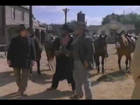 "Jim Harbaugh as a cowboy in ""The Adventures of Brisco County Jr."" (1994)"