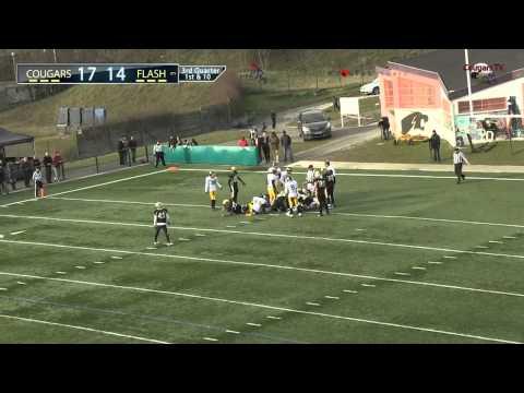 2015 D1 Cougars vs Flash 3eme Quart