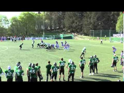 Wide Clip 118 - Tron demolishes a run play