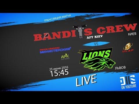 ULAF - 2016. Bandits Crew (Kiev) vs Lions (Lviv)