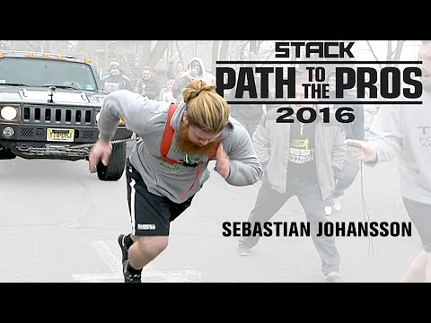 Path to the Pros 2016: Sebastian Johansson Looks to Bring His Superhuman Strength to the NFL