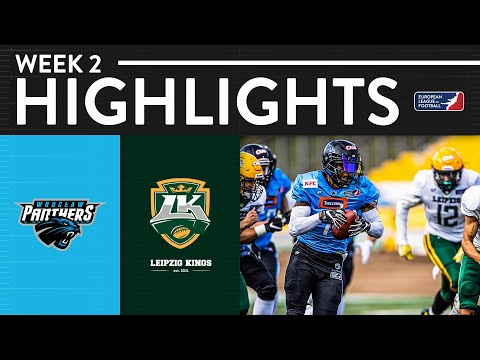 Wroclaw Panthers vs Leipzig Kings | Game Highlights | European League of Football