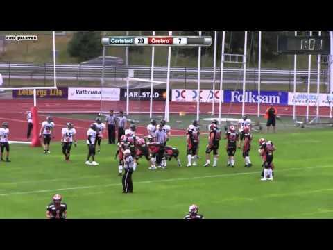 GTV | Carlstad Crusades vs Örebro Black Knights 2013.08.03