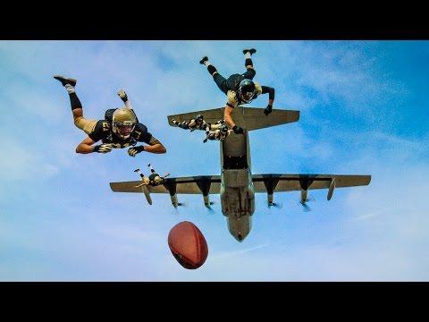 Worlds Longest Touchdown Catch!   DEVINSUPERTRAMP