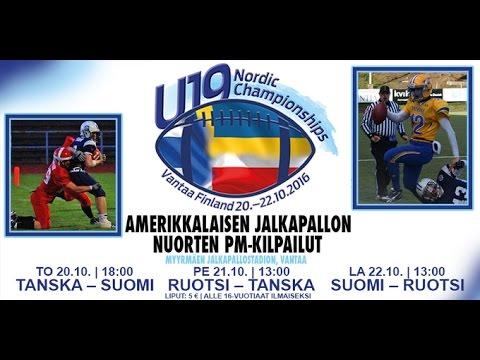 SWE - DEN / U19 Nordic Championships 2016