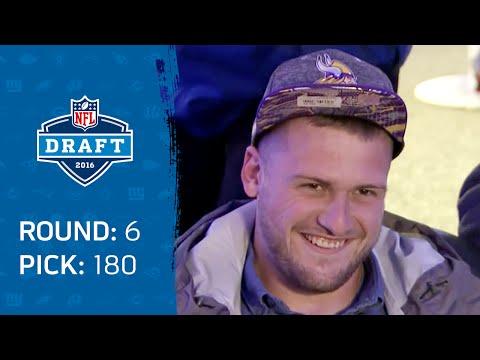 Moritz Boehringer (WR) & Vikings Make NFL History   Mike Mayock's Pitch Succeeds!   2016 NFL Draft