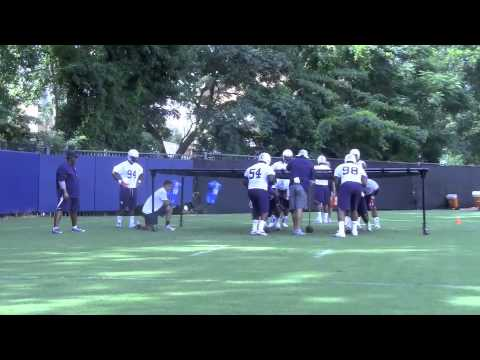 Practice highlights, defensive line 8-2-13