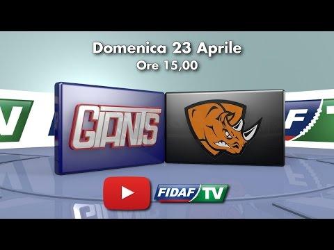 Giants Bolzano vs Rhinos Milano