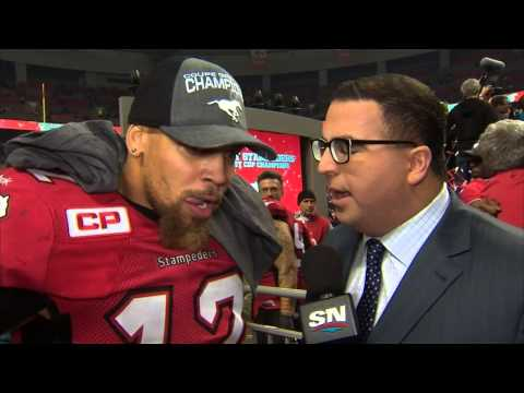 Simpson: Just the beginning for best-ever Stampeders team