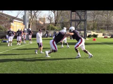 Auburn practice video