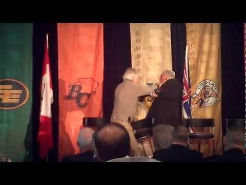 Angelo Mosca & Joe Kapp Fight - Edited by - VanGreyCupFan