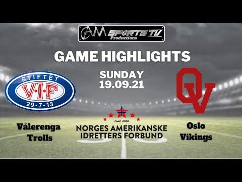 Eliteserie Highlights   Trolls vs Vikings   19.09.21