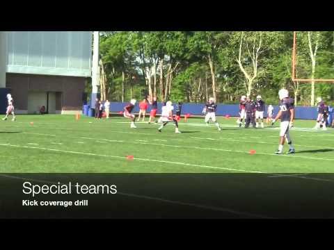 Practice defense and special teams 3-26-12