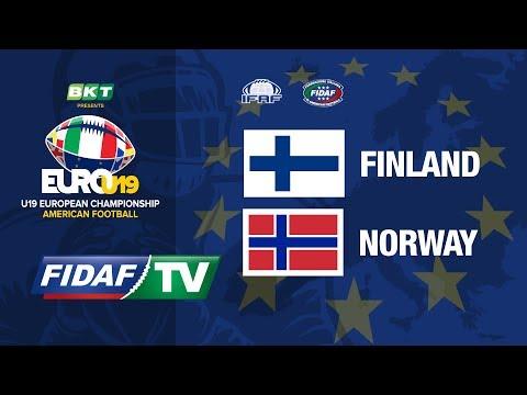 Euro U19: Finland vs Norway