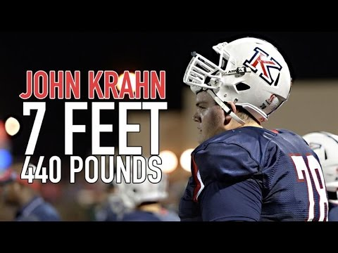 7-Foot, 440-Pound Lineman