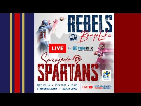 Rebels Banja Luka VS Spartans Sarajevo 23.5.2021.