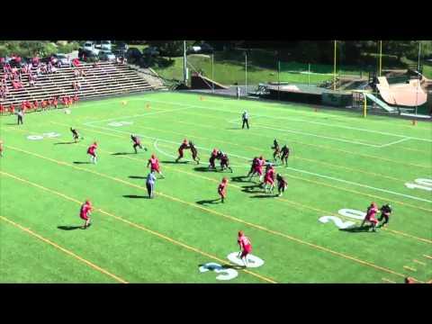 Norgesmesterskap i Amerikansk fotball 2014: Eidsvoll 1814's vs Kristiansand Gladiators
